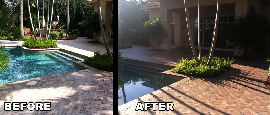 Pool Deck Pressure Cleaning and Sealing Company